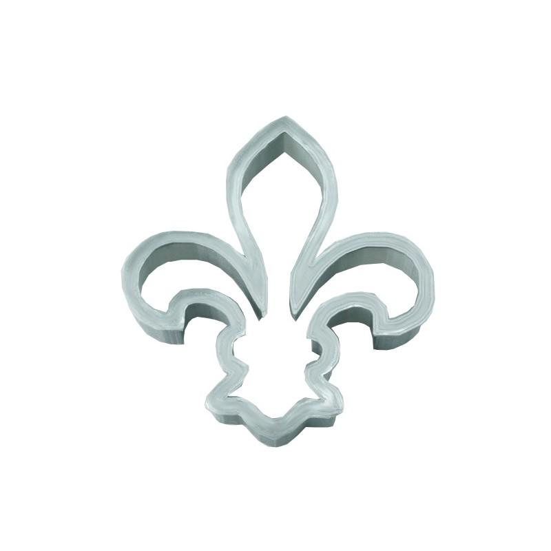 Emporte pi ce forme fleur de lys d coupoir symbole du roi - Symbole fleur de lys ...