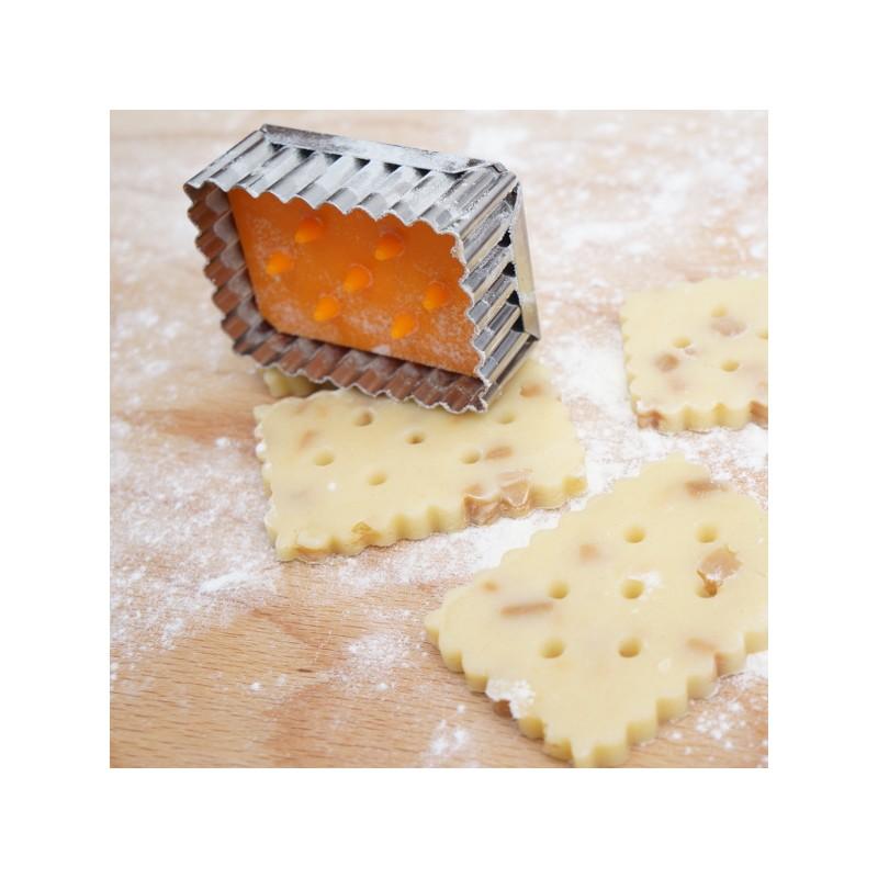 d coupoir poussoir petit beurre emporte pi ce petit beurre en inox. Black Bedroom Furniture Sets. Home Design Ideas