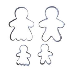 Emporte-pièces Gingerbread - Lot de 4