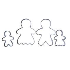 Emporte-pièces Famille Bonhomme