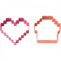 Emporte-pièces Pixel (Lot de 2)