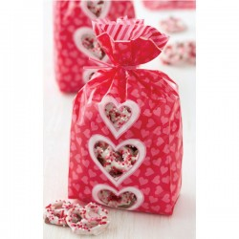 5 Sachets décor Coeurs