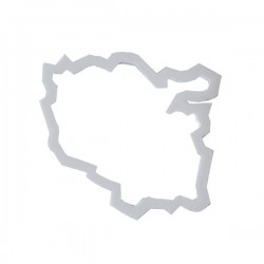 Emporte-pièce Carte Région Lorraine