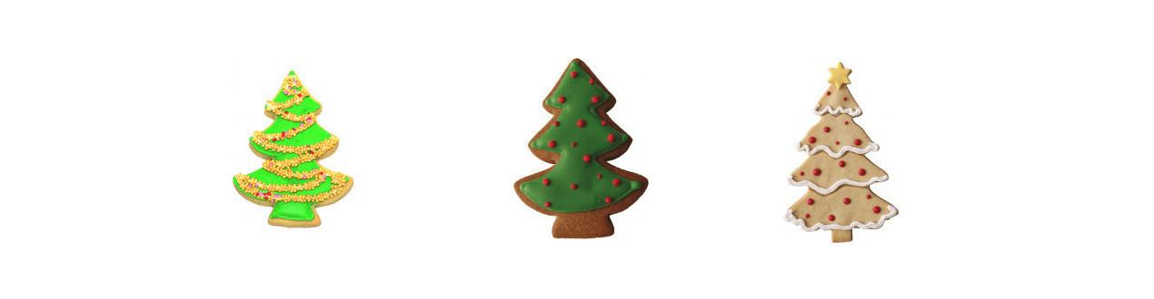 Emporte-pièce Sapin - Découpoirs de Noël en forme de sapin