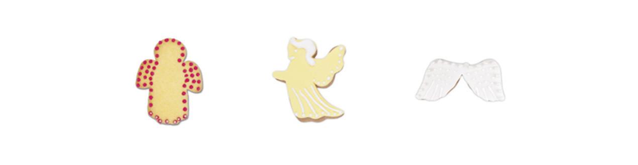 Emporte-pièce en forme d'ange - Emporte-pièces Anges de Noël