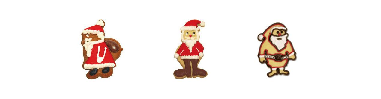 Emporte-pièces Père-Noël